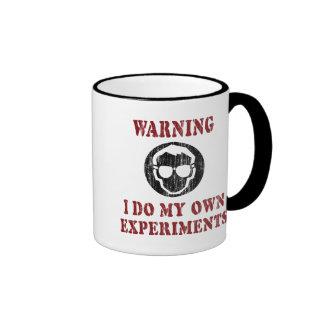 I Do My Own Experiments Retro Grunge Mugs