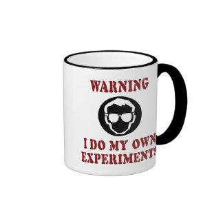 I Do My Own Experiments Ringer Mug
