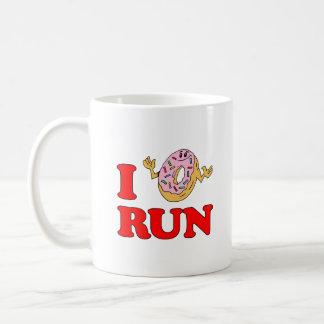 I Do Not (Doughnut) Run Funny Mug