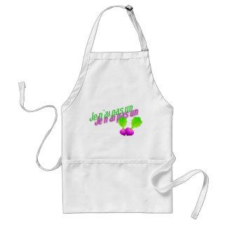 I do not have a radish standard apron