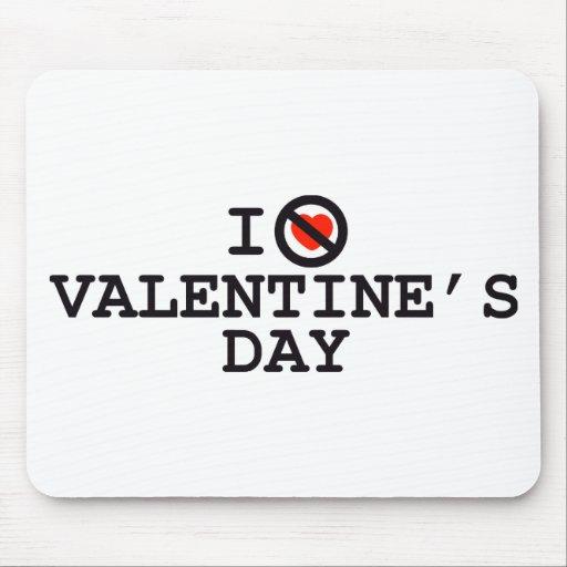 I Do Not Heart (Love) Valentine's Day Mousepad
