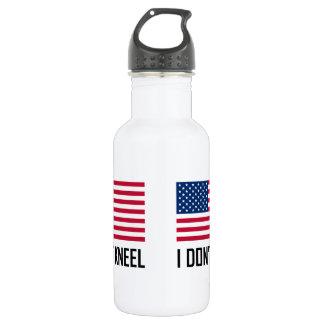 I Do Not Kneel American Flag National Anthem 532 Ml Water Bottle