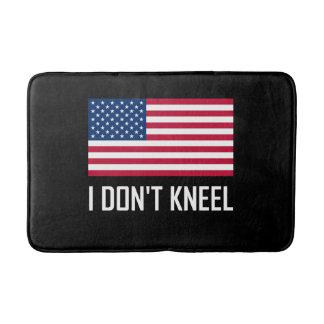 I Do Not Kneel American Flag National Anthem Bath Mat