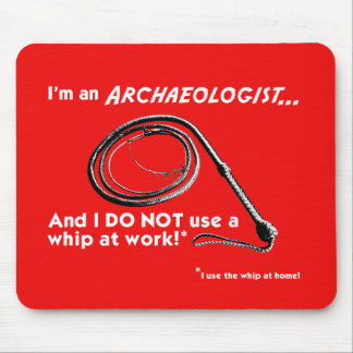 I DO NOT use a whip! Mouse Mat
