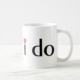I Do (Pink Hrt) Coffee Mug