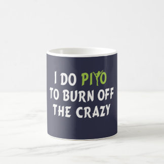 I do PiYo to burn off the CRAZY Coffee Mug