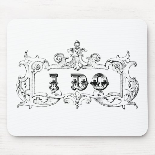 I Do Quote by Enchanting Quotes Mouse Pad