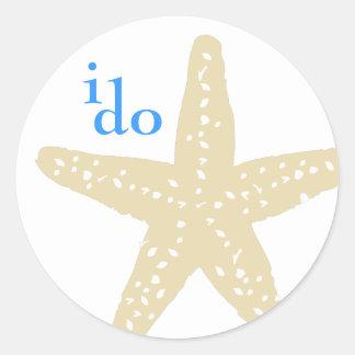 I Do Starfish Sticker