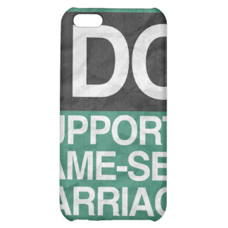 I DO SUPPORT GAY MARRIAGE - png iPhone 5C Cover