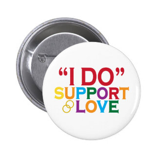 I DO support love Prop 8 Button
