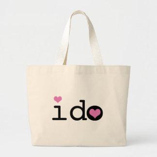 I Do Jumbo Tote Bag