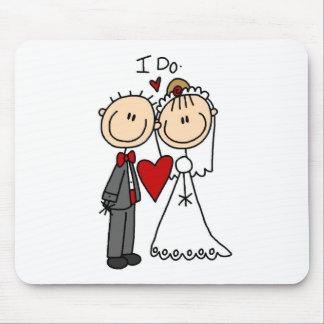 I Do Wedding Ceremony Mousepad