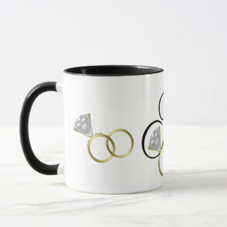 I Do Wedding Rings Mug