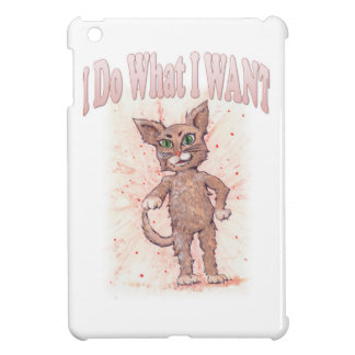 I Do What I WANT iPad Mini Case