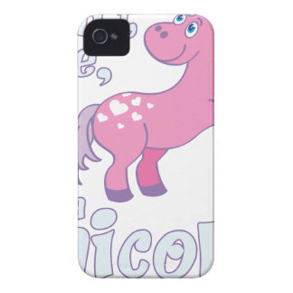 i don´t care i´m a unicorn Case-Mate iPhone 4 case