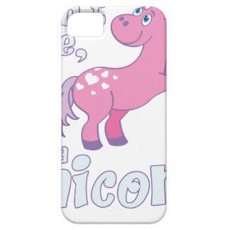 i don´t care i´m a unicorn iPhone 5 case