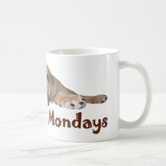 I Don t Do Mondays Bullmastiff Puppy Mug