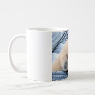 I Don;t Do Mornings Puppy Coffee Mug