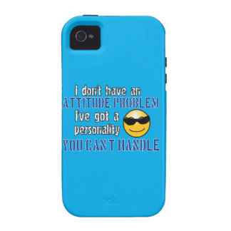 I don t have an attitude problem I ve got a perso iPhone 4/4S Cover