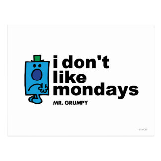 I Don t Like Mondays Postcards