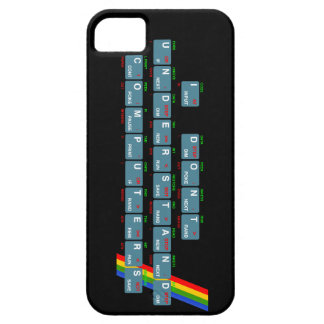 I Don t Understand Computers - iPhone black iPhone 5 Cover