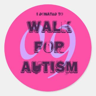 i donated to... sticker