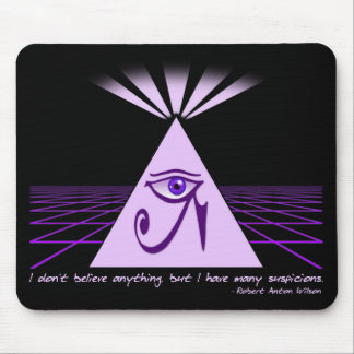 I don't believe anything, but... Mouse Pad