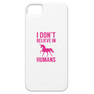 I Don't Believe In Humans iPhone 5 Cover