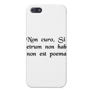 I don't care. If it doesn't rhyme, it isn't a poem Cases For iPhone 5