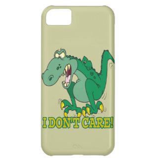 i dont care t-rex temper tantrum iPhone 5C case
