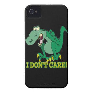 i dont care t-rex temper tantrum iPhone 4 Case-Mate cases