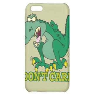 i dont care t-rex temper tantrum iPhone 5C cover