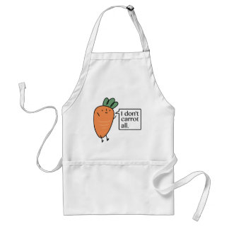 I Don't Carrot All Standard Apron