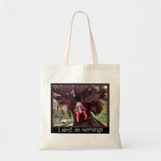 I Don't Do Mornings with Polish Chicken Weezy Tote Bag