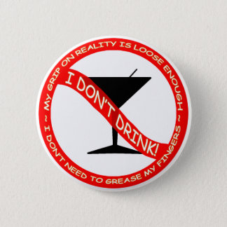 I Don't Drink button