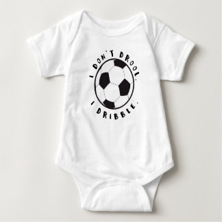 I don't drool. I dribble. Baby Bodysuit