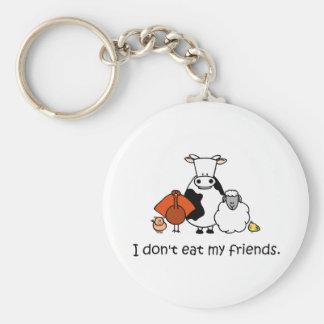 I dont eat my friends key ring