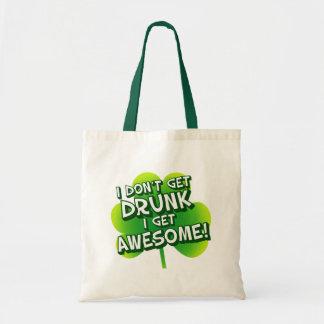 I Don't Get Drunk I Get Awesome Canvas Bag