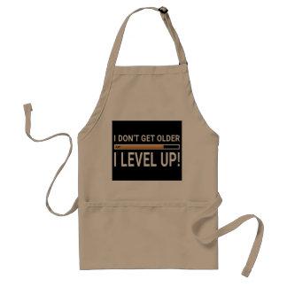I don't get older - I level up! Standard Apron