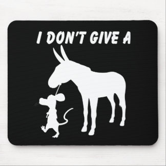 I Don't Give A Rats Mousepads