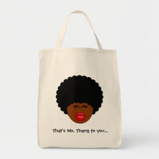 I Don't Just Think That I'm Better Than You - I Am Grocery Tote Bag