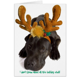 i don't know about all this holiday stuff card