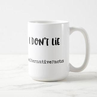 I don't lie coffee mug