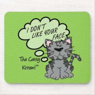 I don't like the look of or on your face mouse pad