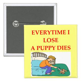 i don't lose 15 cm square badge