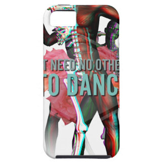 I Don't Need No Other Side Skull Skeleton Tough iPhone 5 Case
