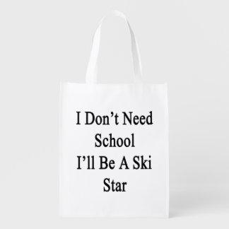 I Don't Need School I'll Be A Ski Star.