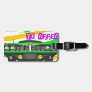 I don't need to appear, I am Luggage Tag