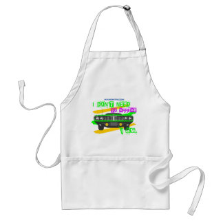I don't need to appear, I am Standard Apron