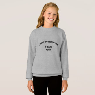I don't need wifi sweatshirt